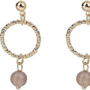 Se Dipity Ring Bead Drop Dangle Earrings